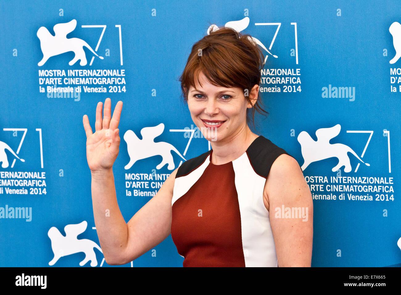 d03998b6652 Italy Veneto Venice Festival of the Cinema 2014 Barbora Bobulova actress -  Stock Image