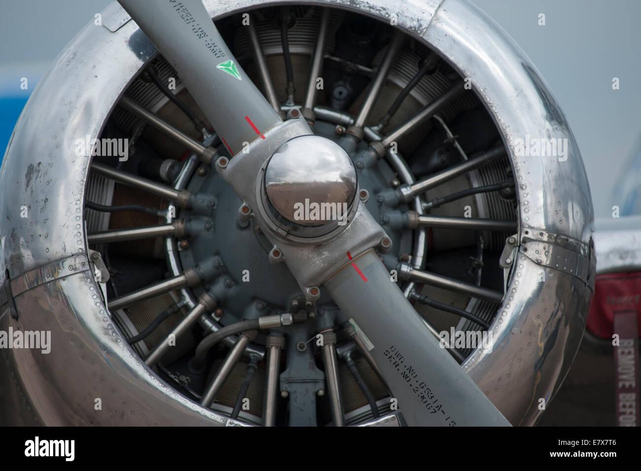 Piston Engine Aircraft Stock Photos & Piston Engine Aircraft