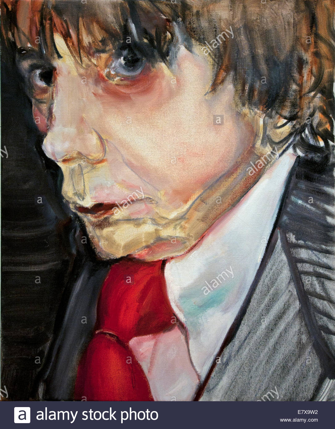 To Know him is to love Him 2011 Phil Spector  ( British )  by Marlene Dumas1953 South African Africa - Stock Image