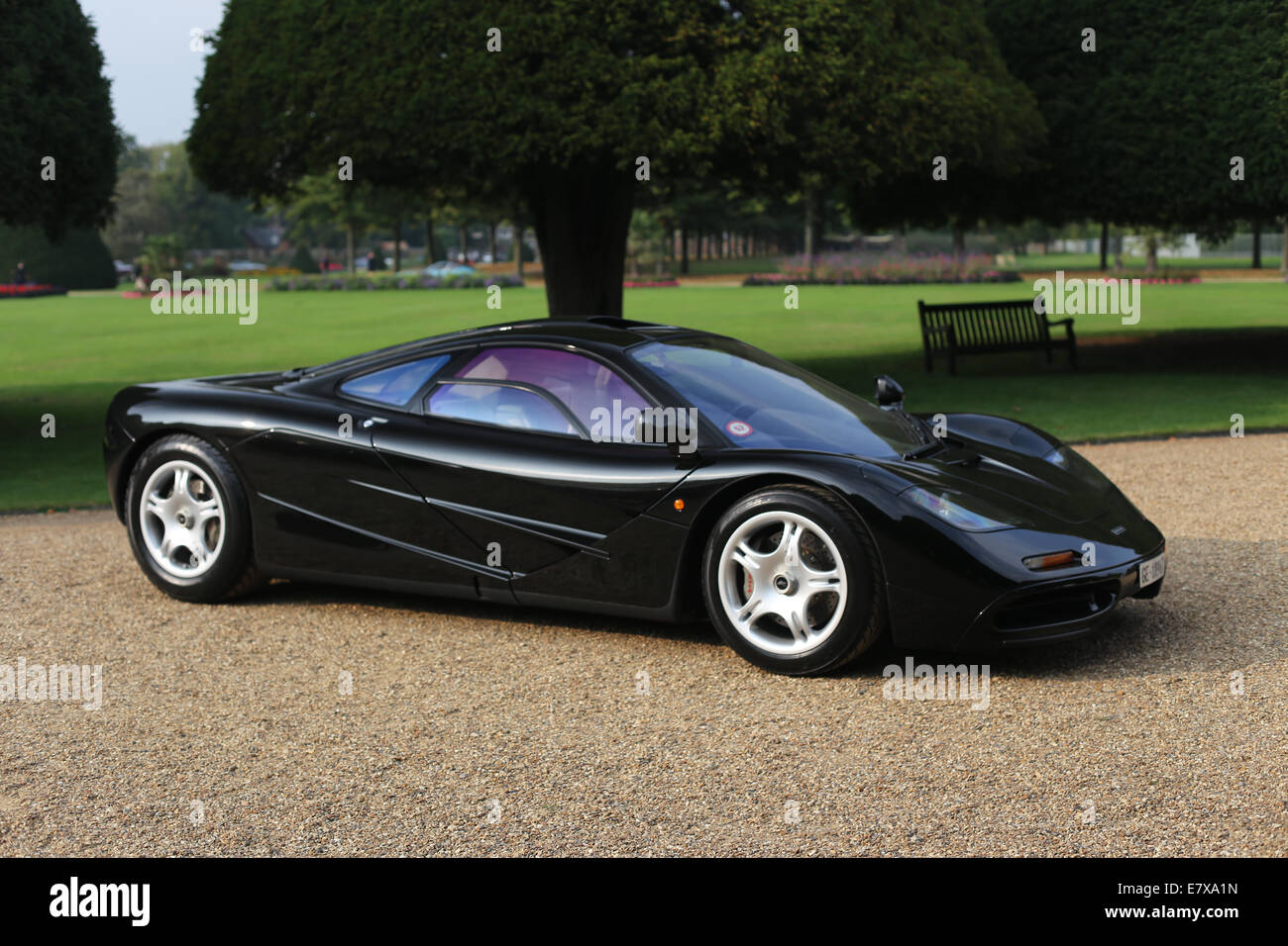 mclaren f1 road car stock photo: 73722705 - alamy