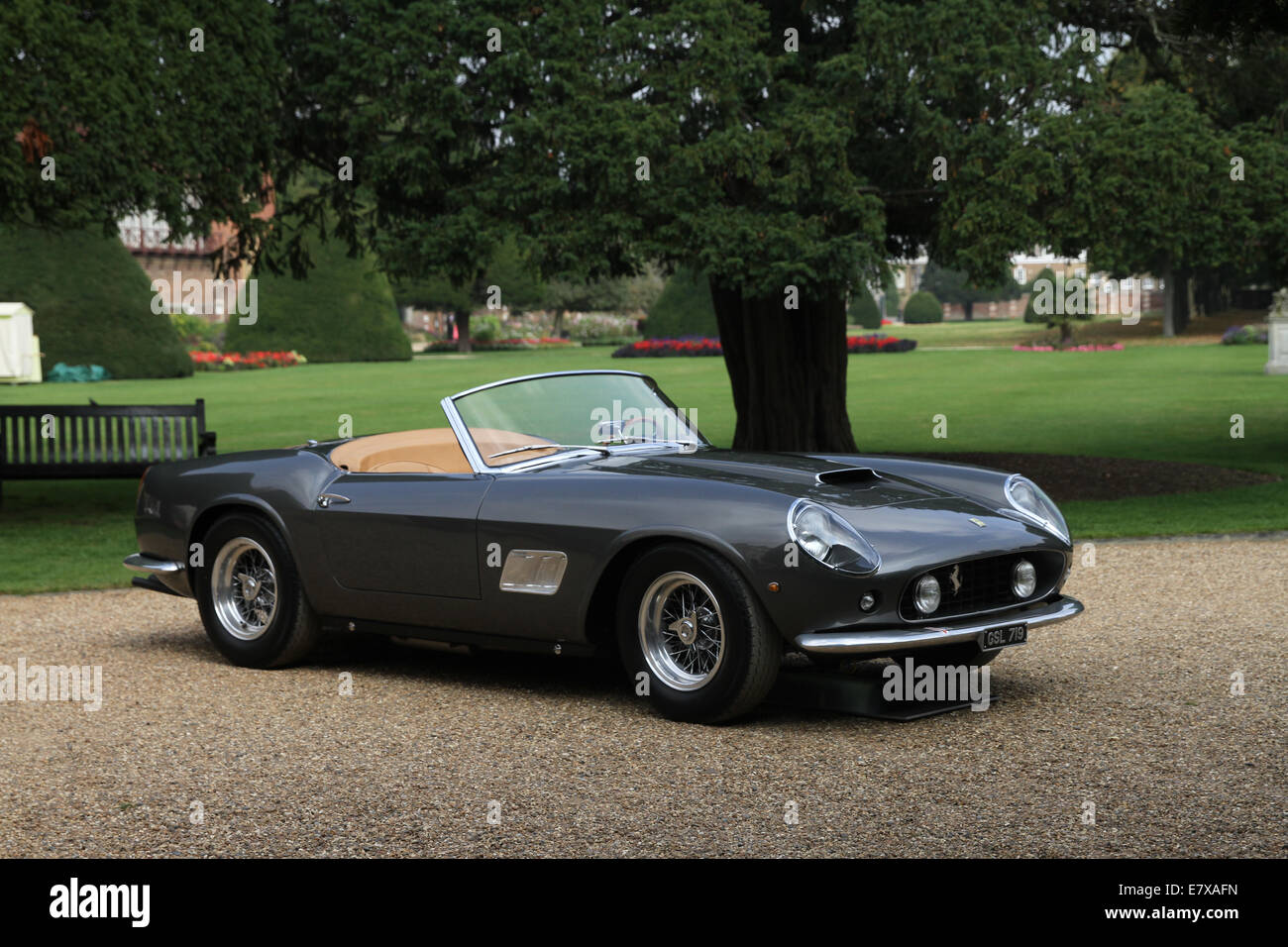 1961 Ferrari California Spyder Swb Competizione Stock Photo