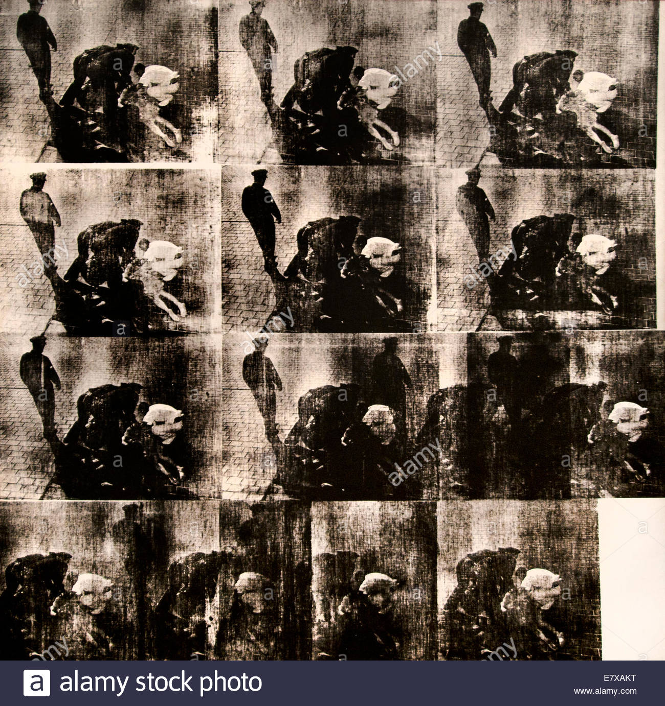 Bellevue II Andy Warhol 1928-1987 American United States of America USA - Stock Image