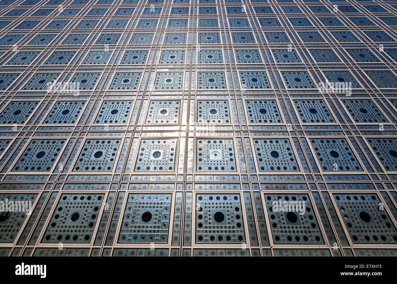 Institut du Monde Arabe, Paris, France - Stock Image