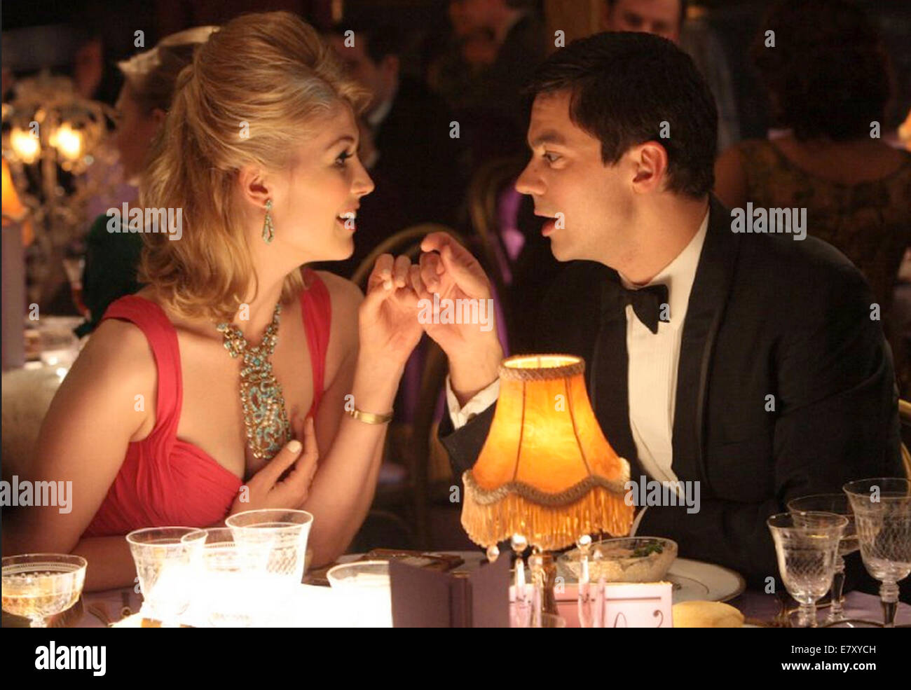 AN EDUCATION 2009 BBC Films production with Rosamund Pike and Dominic Cooper - Stock Image