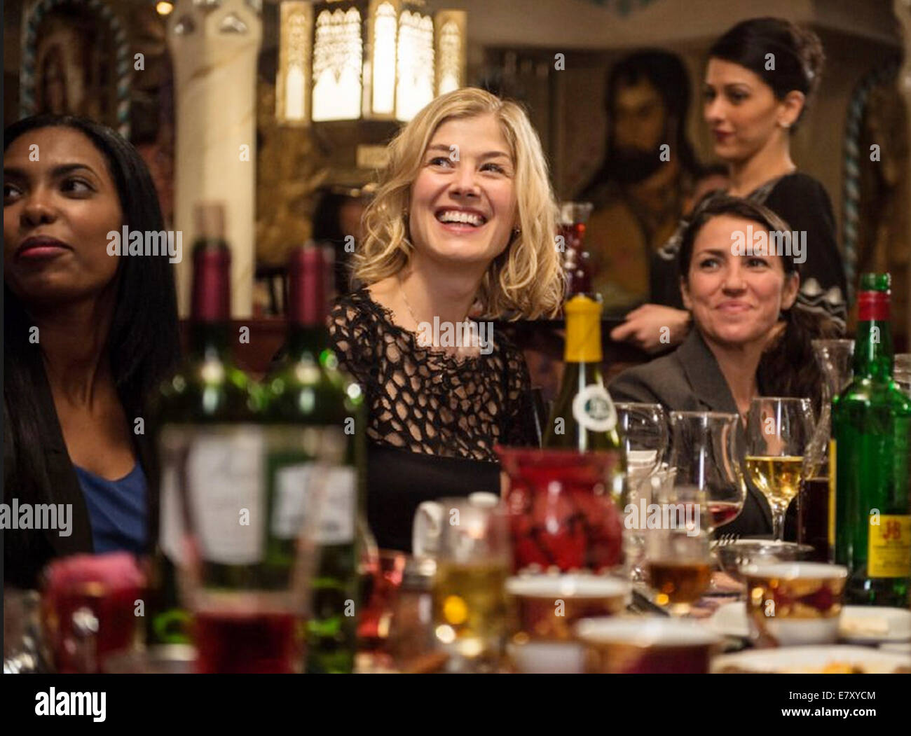 HECTOR AND THE SEARCH FOR HAPPINESS 2014 Egoli Tossell film with Rosamund Pike - Stock Image