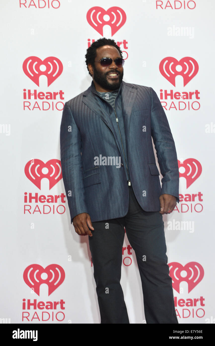 LAS VEGAS - SEP 19: Actor Chad L. Coleman attends the 2014 iHeartRadio Music Festival at the MGM Grand Garden Arena - Stock Image