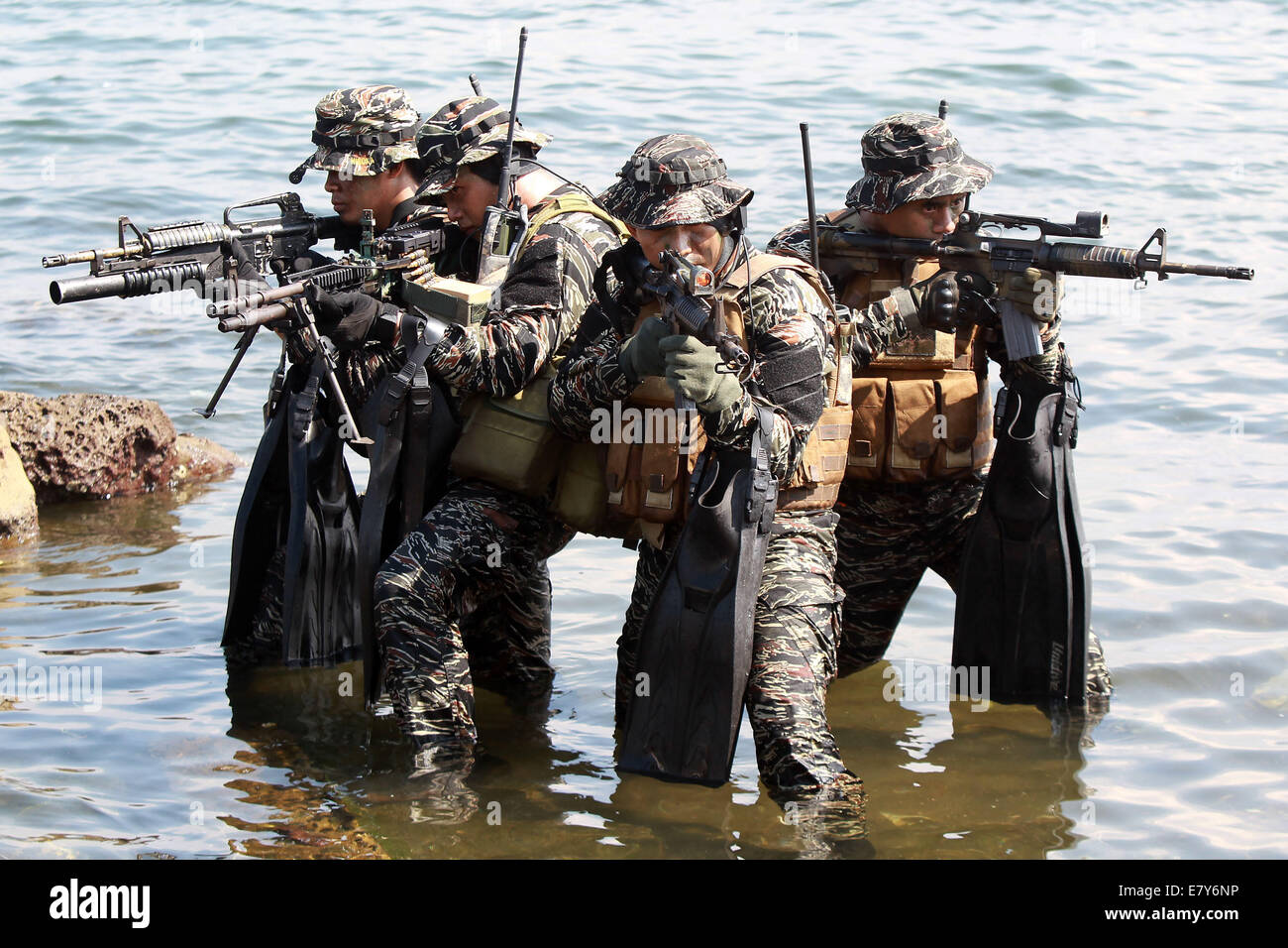 Cavite Province, Philippines  26th Sep, 2014  New recruits
