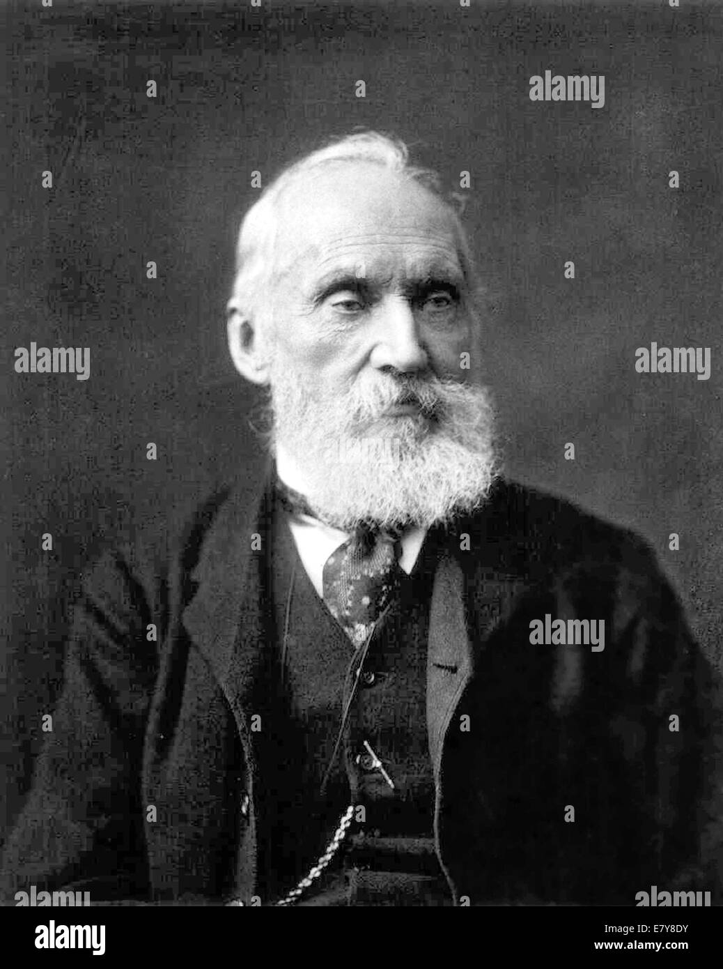 WILLIAM THOMSON, 1st Baron Kelvin (1824-1907) British mathematical phyicist - Stock Image
