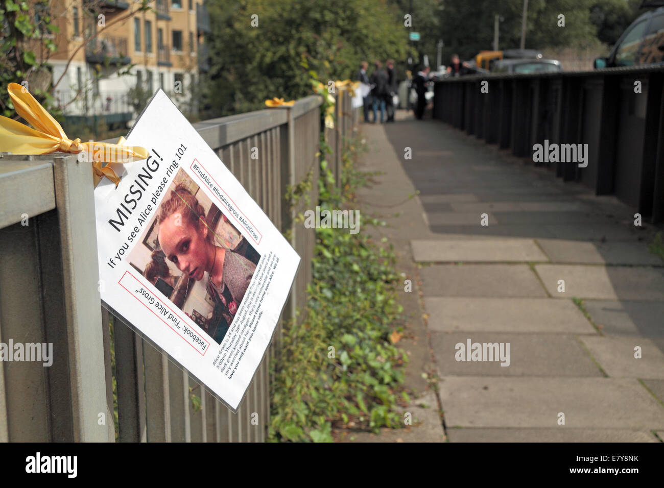 Missing Person Poster Uk Stock Photos & Missing Person