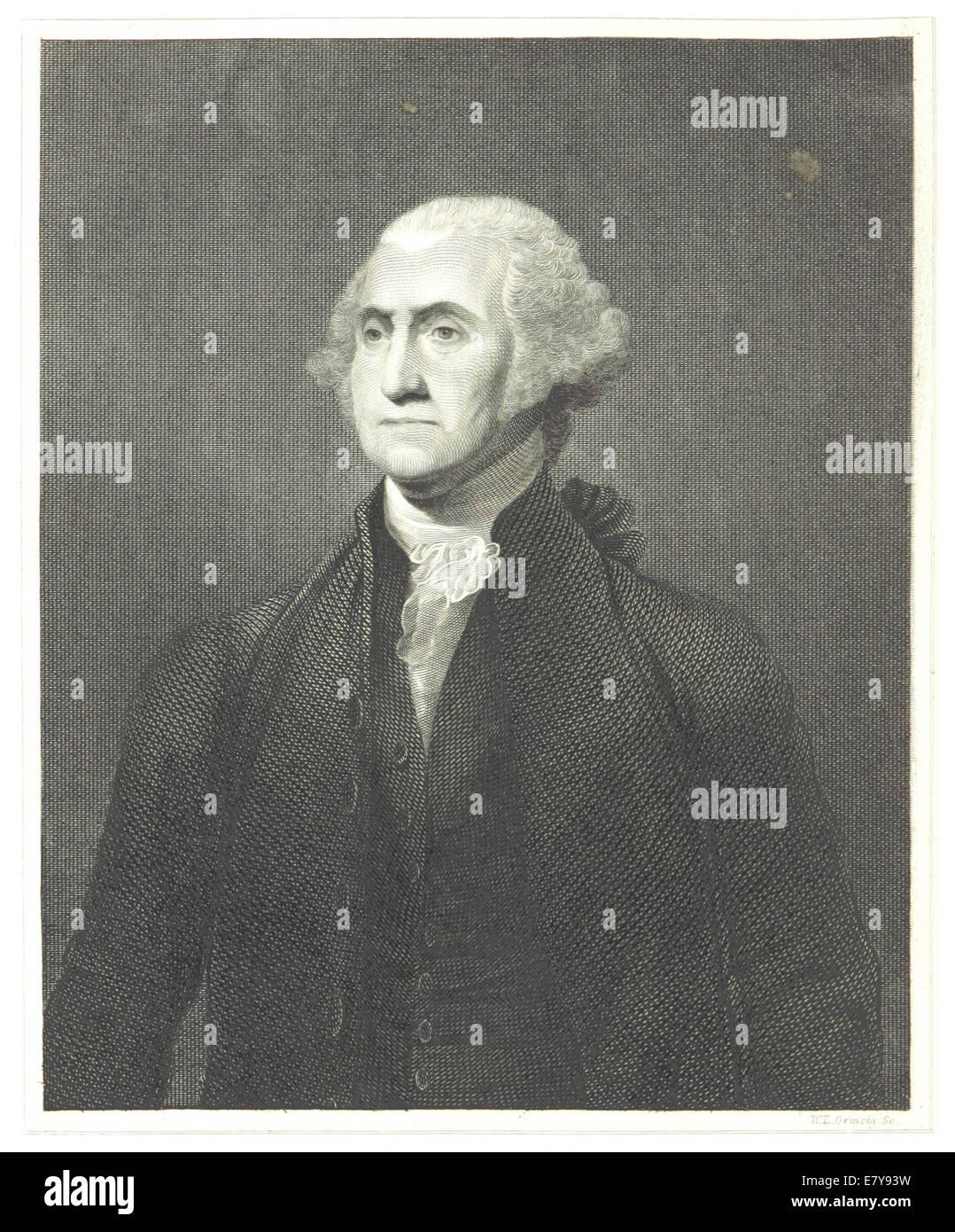 HINTON(1834) 1.010 George Washington - Stock Image