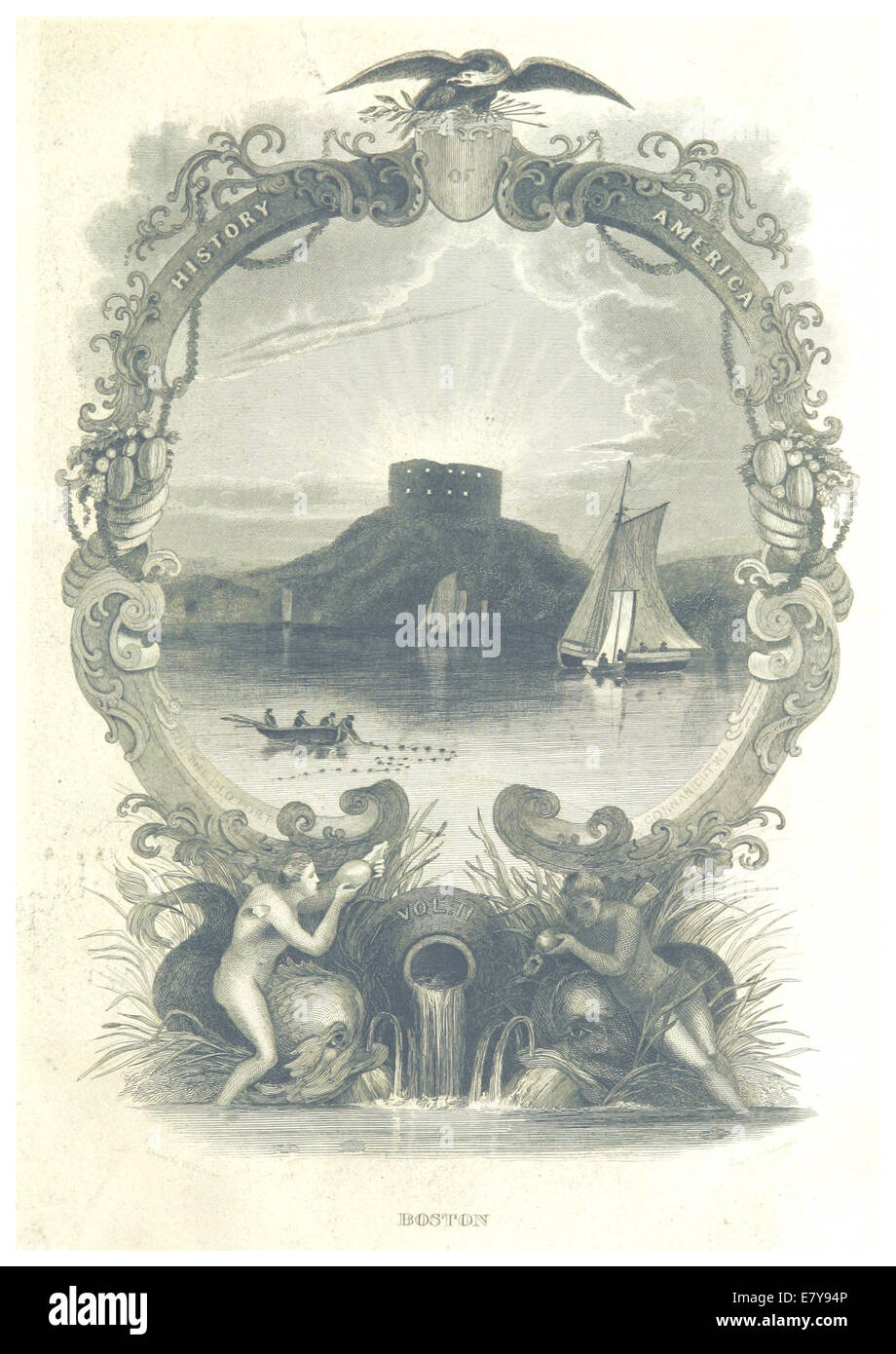 HINTON(1834) 2.011 Illustration - Stock Image