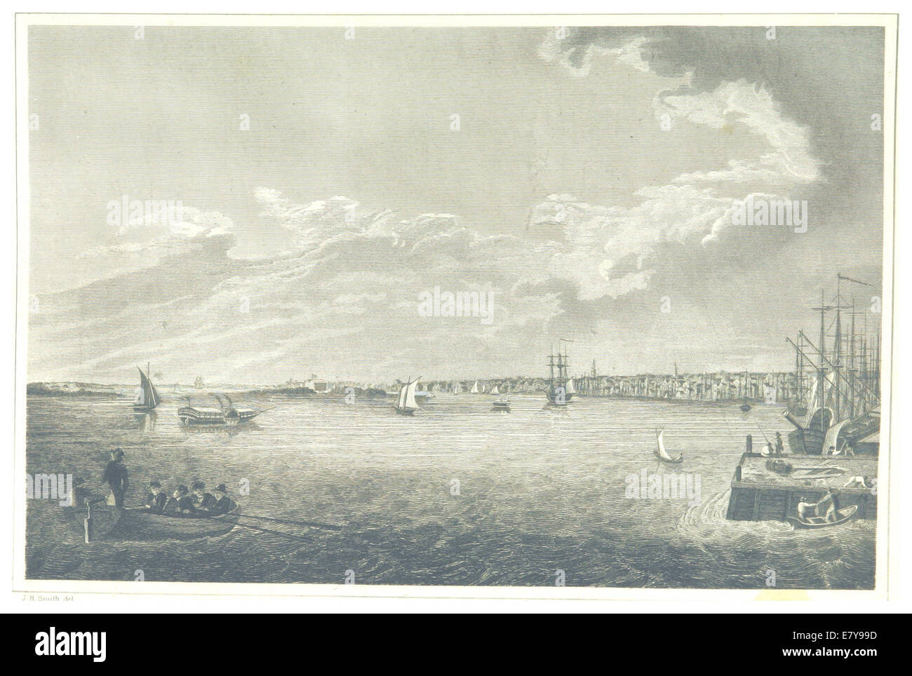 HINTON(1834) 2.465 Philadelphia - Stock Image