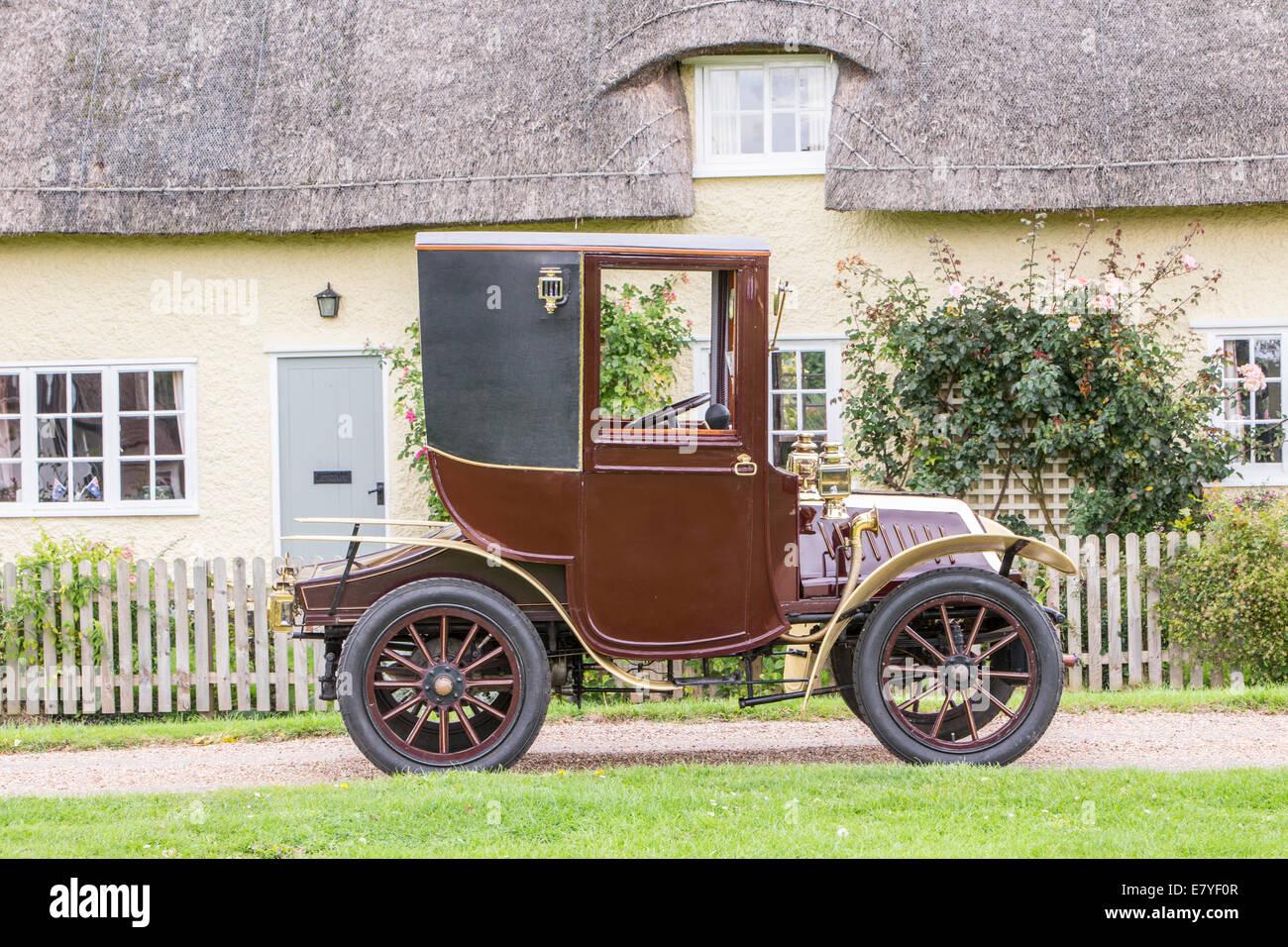 1904 De Dion Bouton, coupe Brighton run vetran car - Stock Image