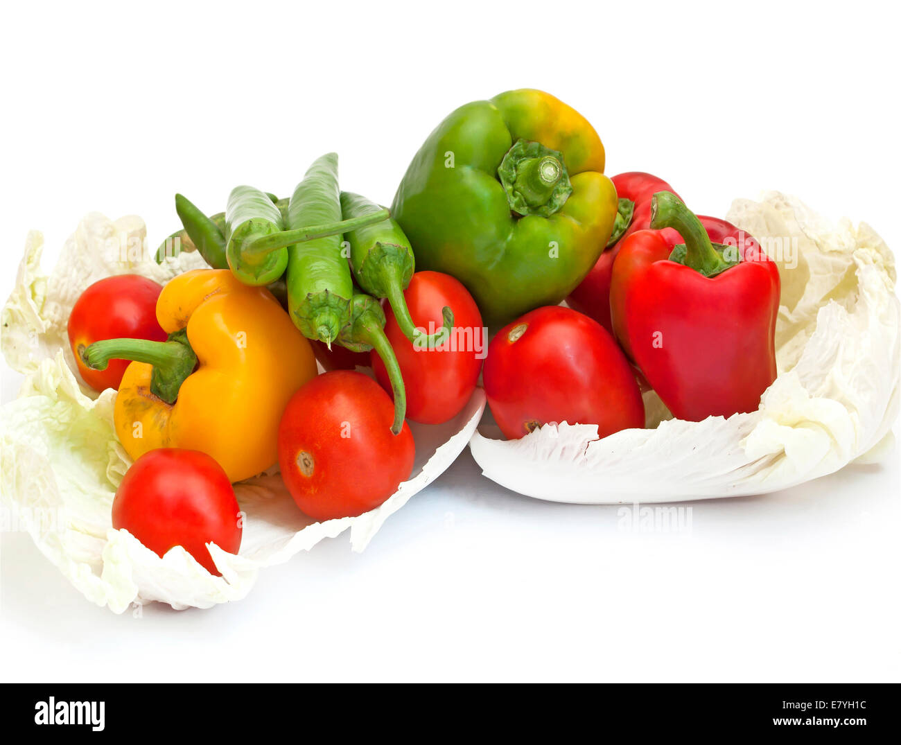 tomato plants vegetable Vegetarian chili, galangal, lemongrass - Stock Image
