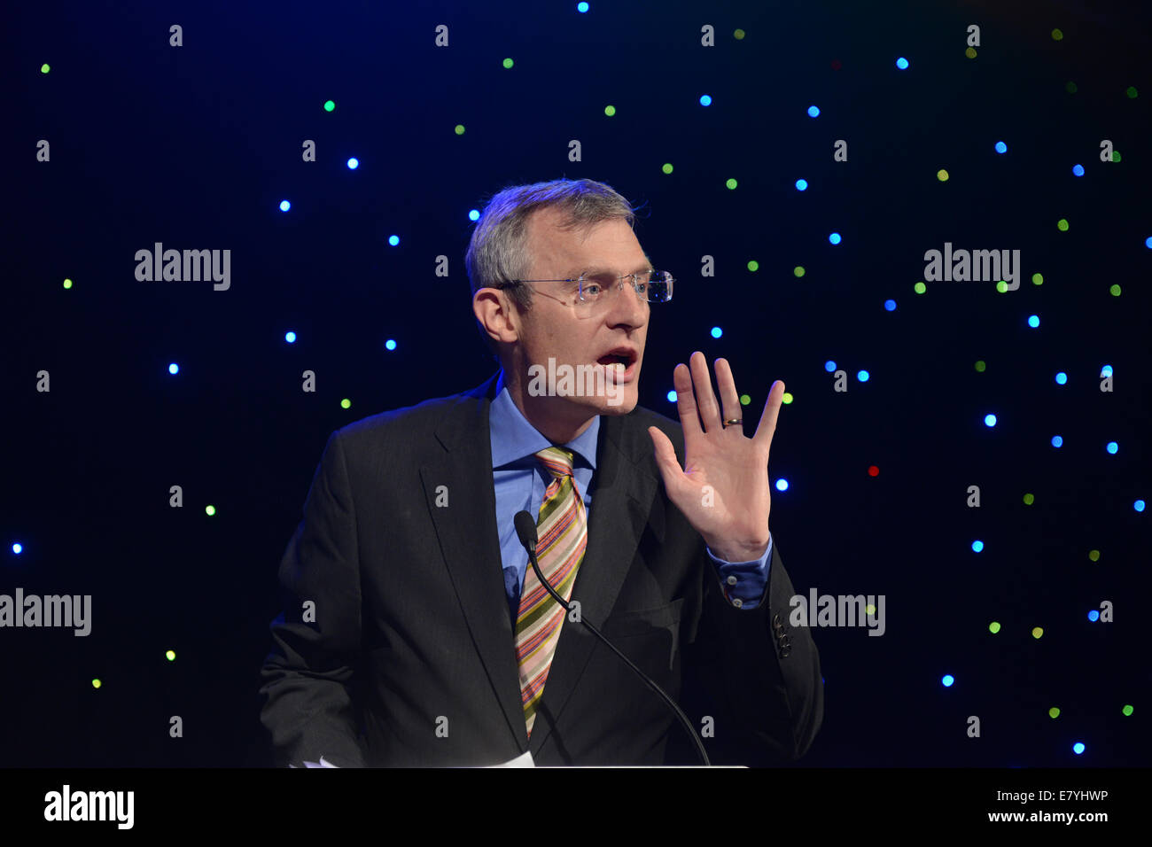 Jeremy Vine television & radio presenter - Stock Image