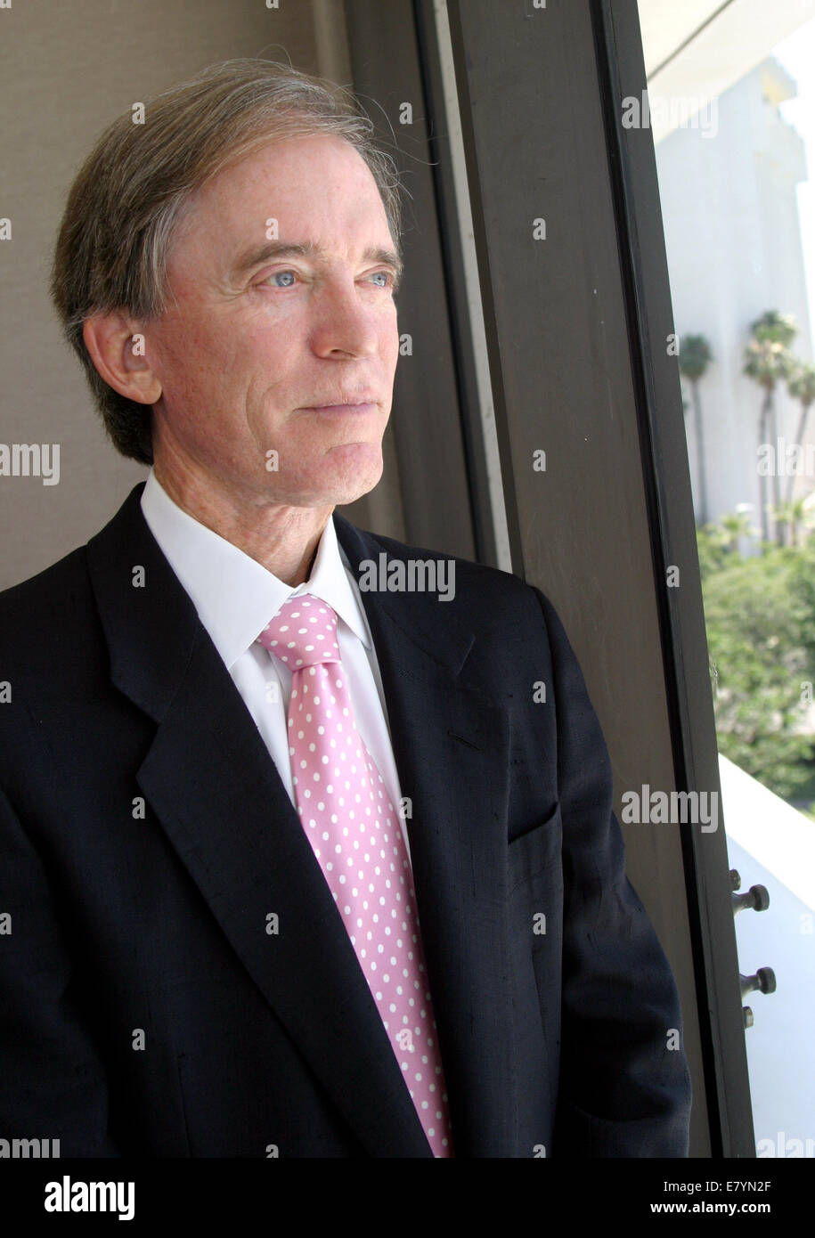 Bill Gross, founder of bond giant PIMCO, has left his post as chief investment officer at the company and joined - Stock Image