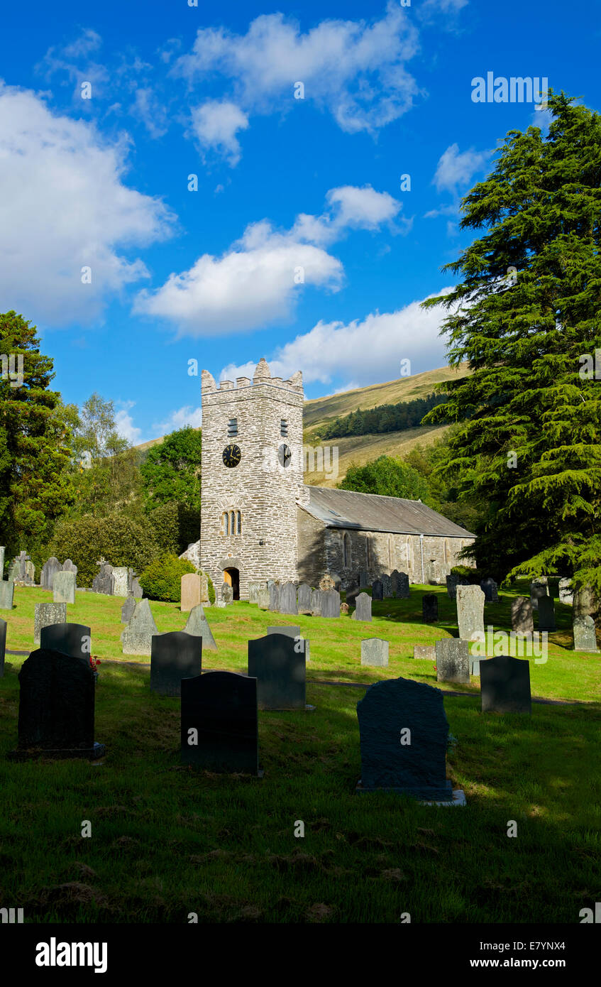Jesus Church, Troutbeck, Lake District National Park, Cumbria, England UK - Stock Image