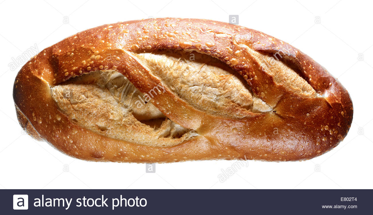 Old Fashion baked bread loaf - Stock Image