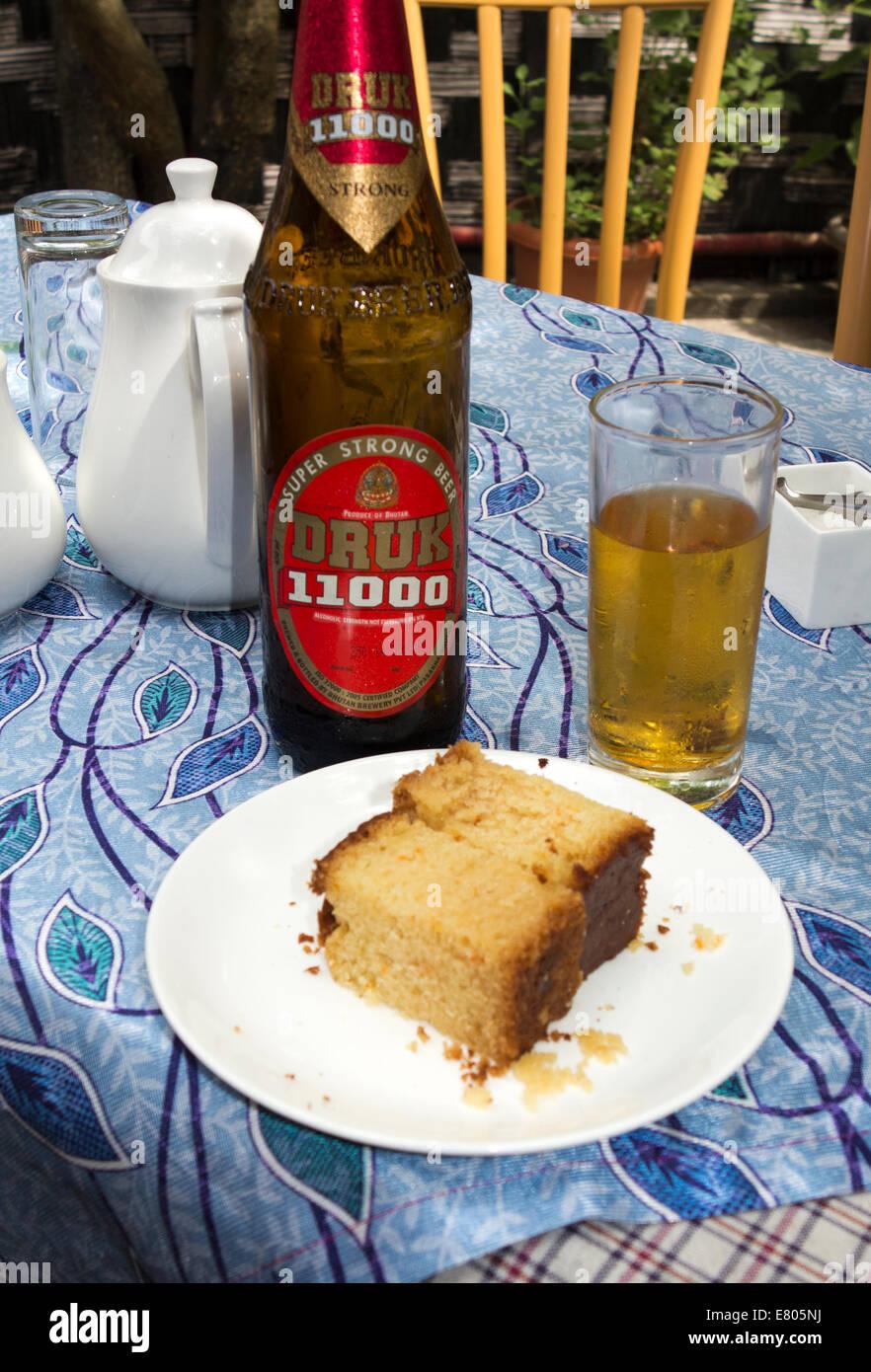 Eastern Bhutan Trashigang Bottle Of Druk 11000 Strong Beer And
