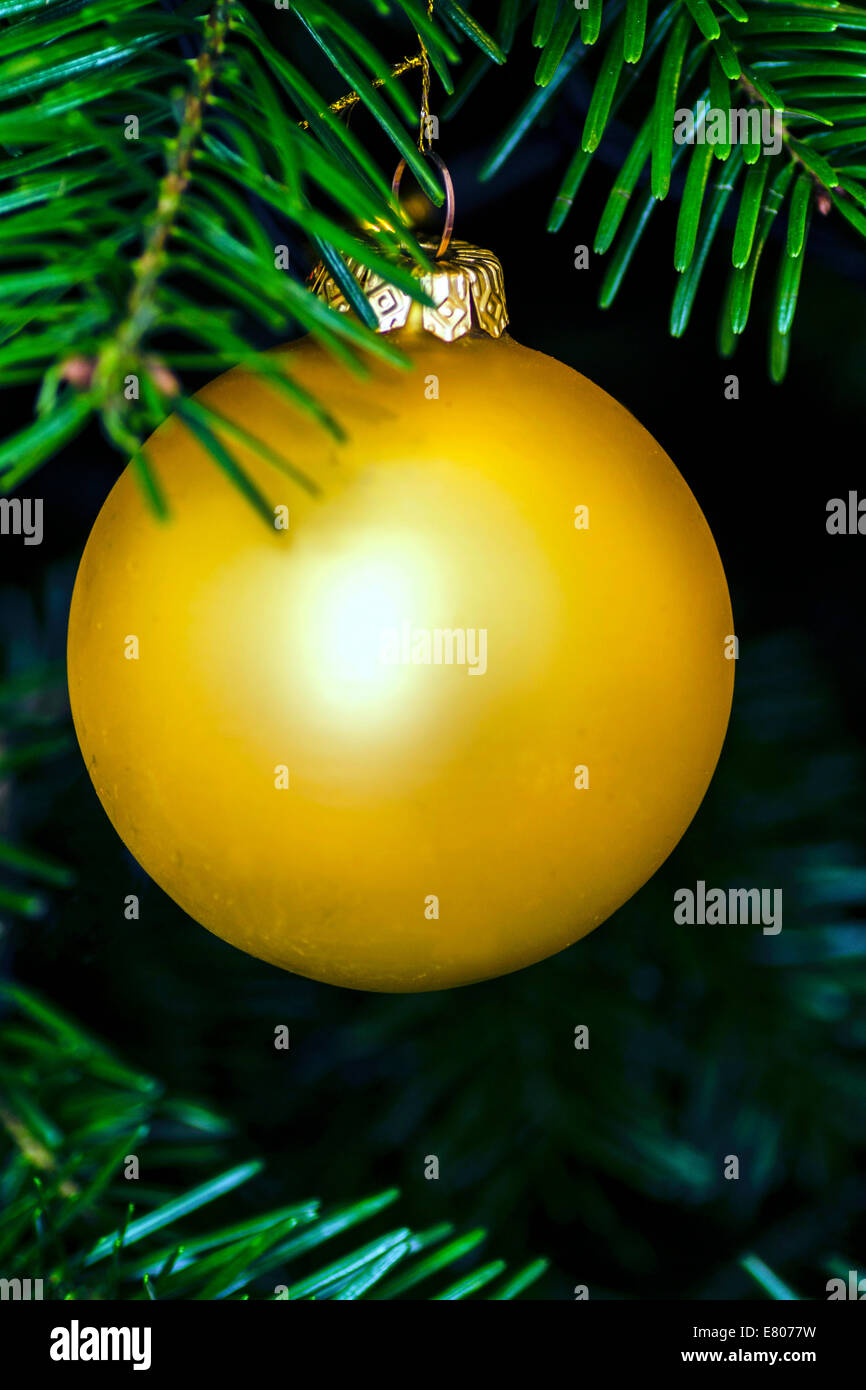 Golden Gold Christmas Tree Ball Decoration Ornament