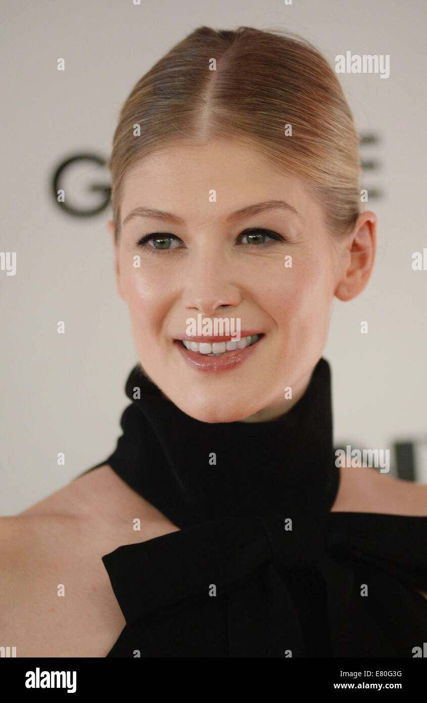 Rosamund Pike at arrivals for GONE GIRL World Premiere and Opening Night Gala at the 52nd New York Film Festival, - Stock Image