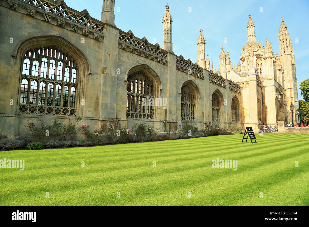 King's College, Cambridge, UK - Stock Image