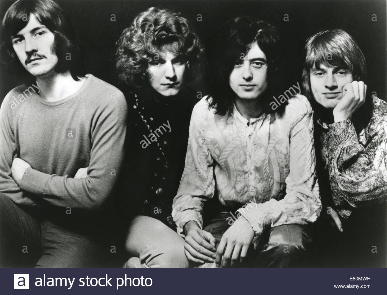 LED ZEPPELIN, circa 1969. L-R:  John Bonham, Robert Plant, Jimmy Page, John Paul Jones. - Stock Image