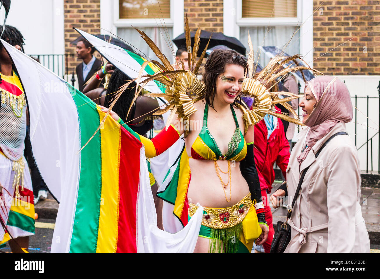Notting Hill Carnival - London - Stock Image
