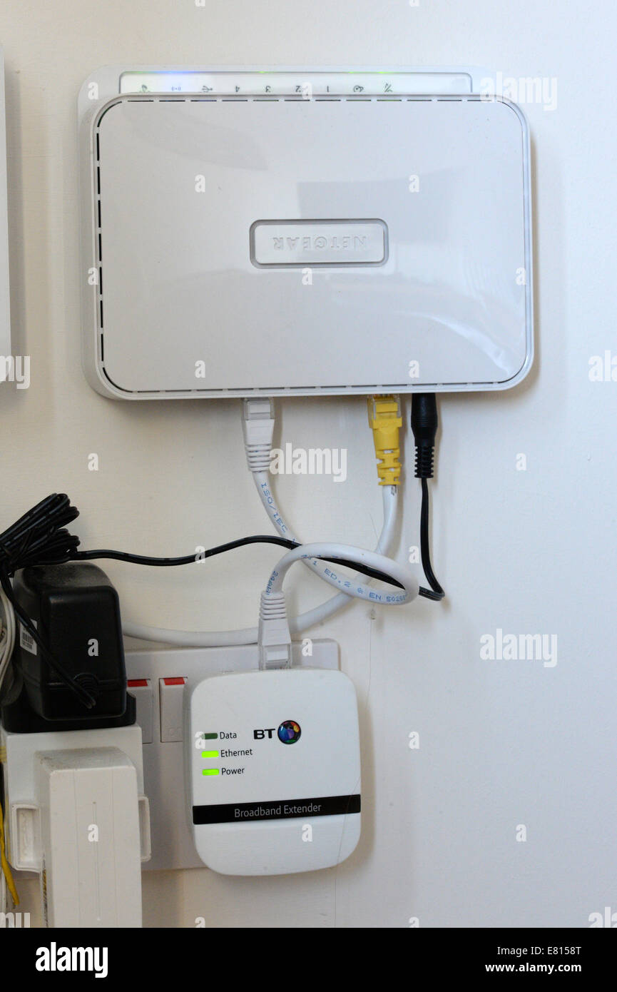 Extend Your Home Broadband Network With A Plug Plugged Into Wiring Ethernet House Sockets