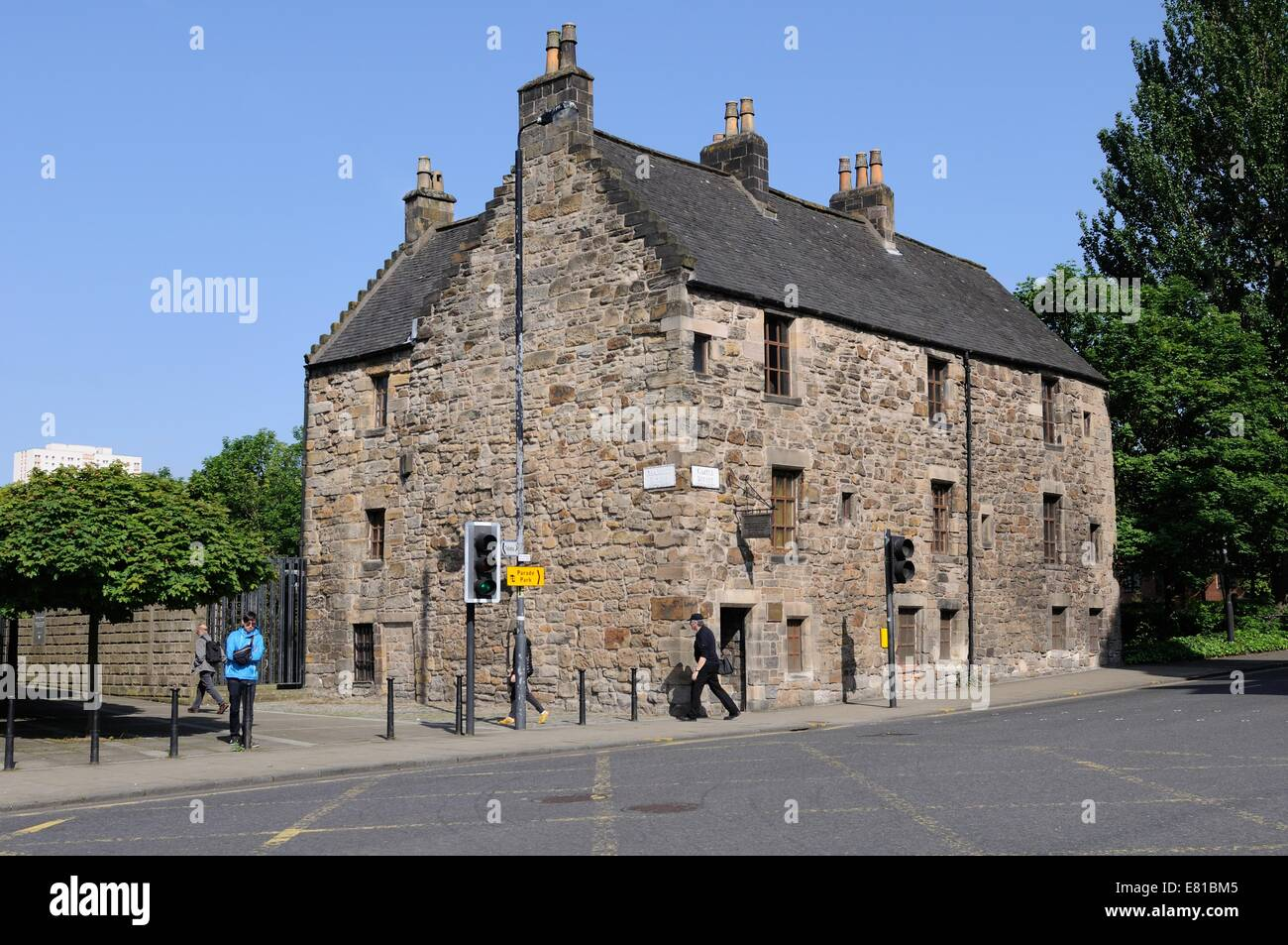 Oldest House In Glasgow Stock Photos & Oldest House In