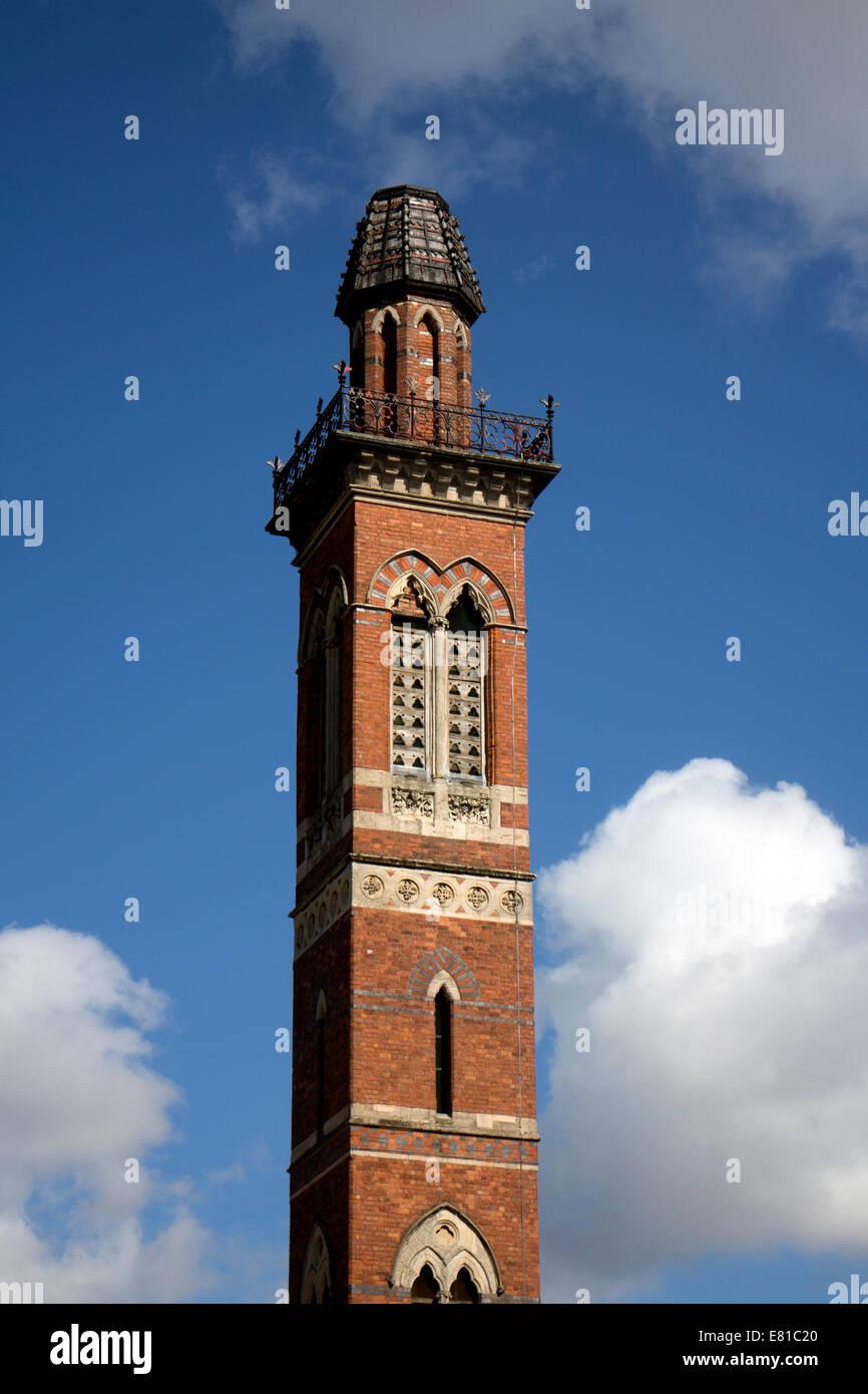 Severn Trent Water works tower, Edgbaston, Birmingham, England, UK - Stock Image