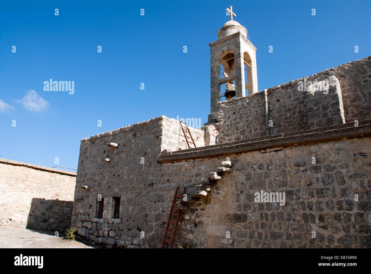 Mar Saba Church, Batroun, north Lebanon - Stock Image