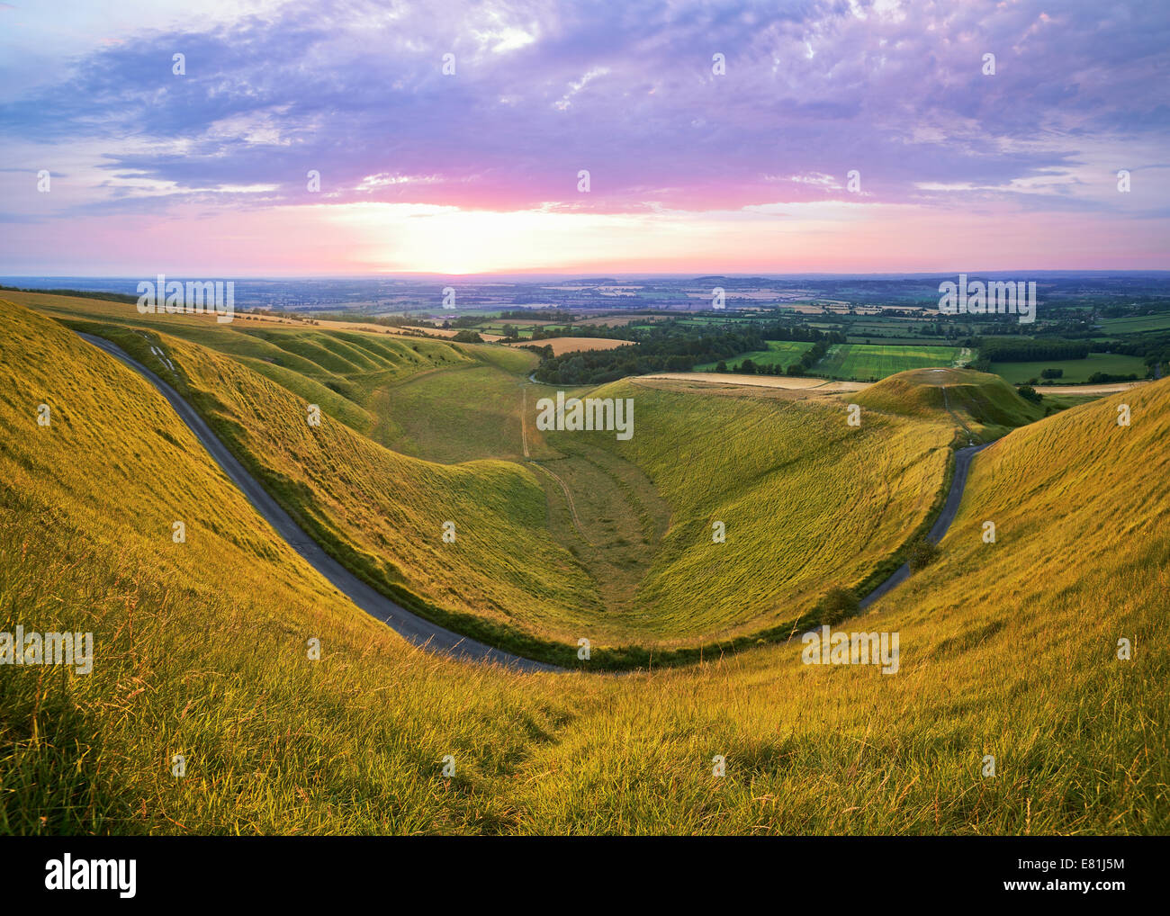 The Manger Uffington, Oxfordshire, England, UK. - Stock Image