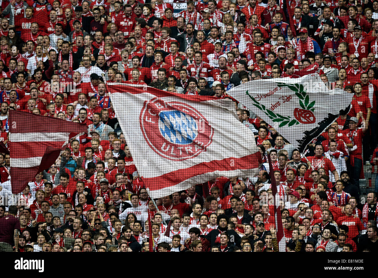 Flag Bavaria - the pride of the German fans