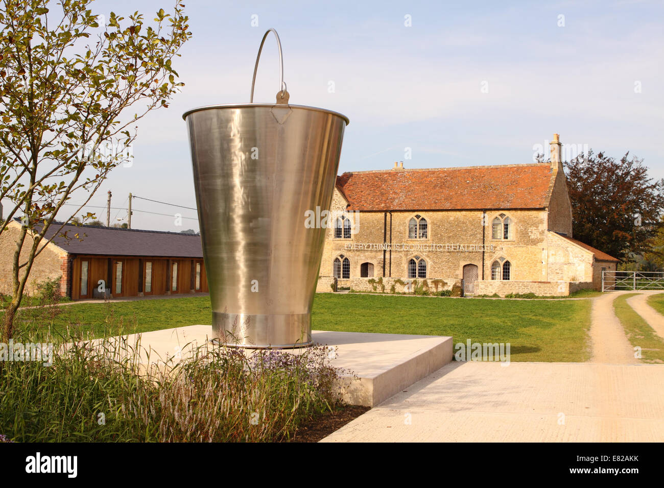 Bruton Somerset UK among the exhibits at the new Hauser & Wirth art