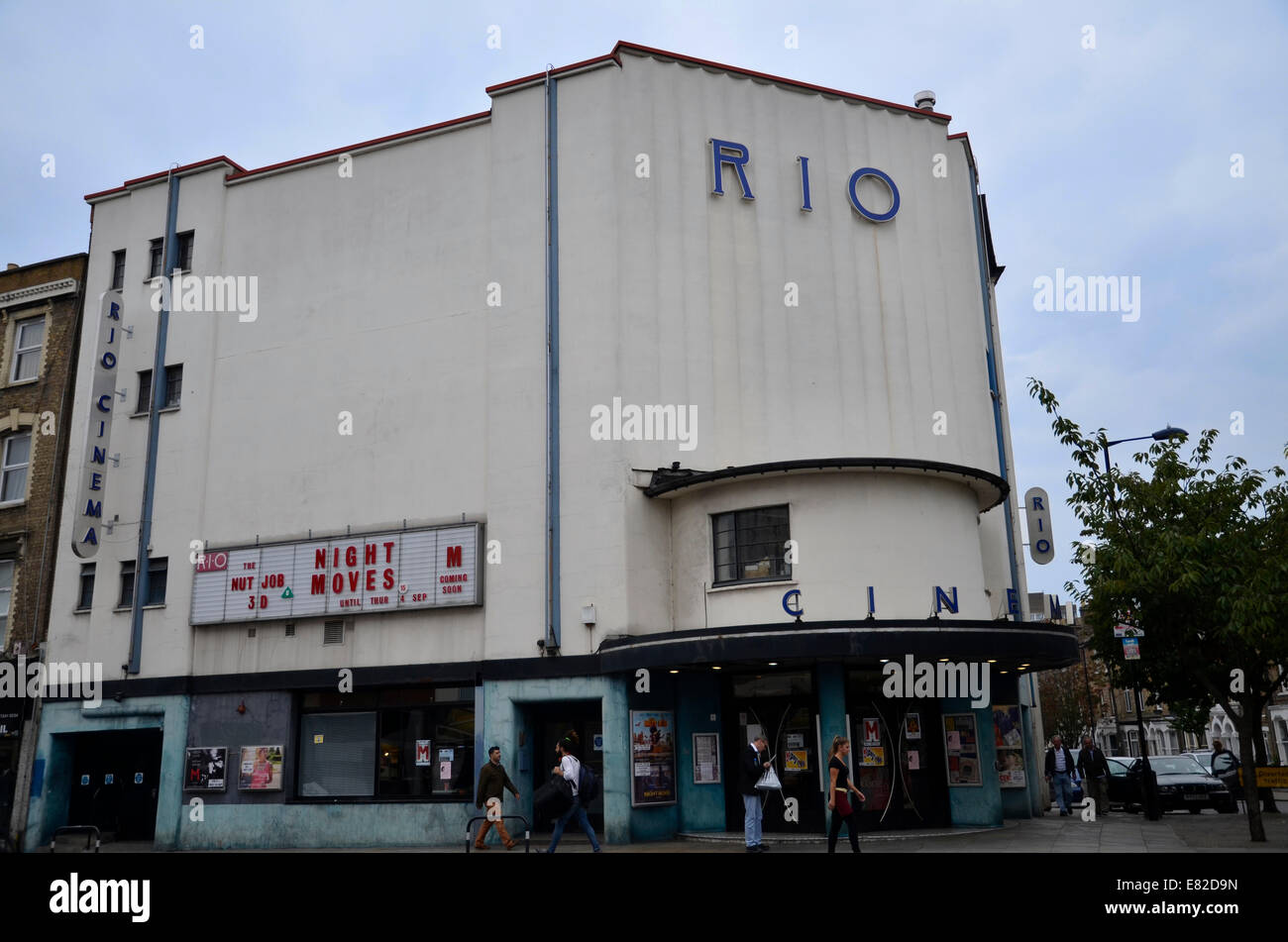 low priced 09bcc 8dba4 The Rio Cinema in Dalston, East London