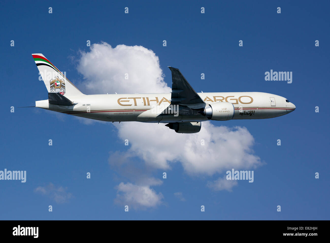 Etihad Boeing 777 Stock Photos & Etihad Boeing 777 Stock