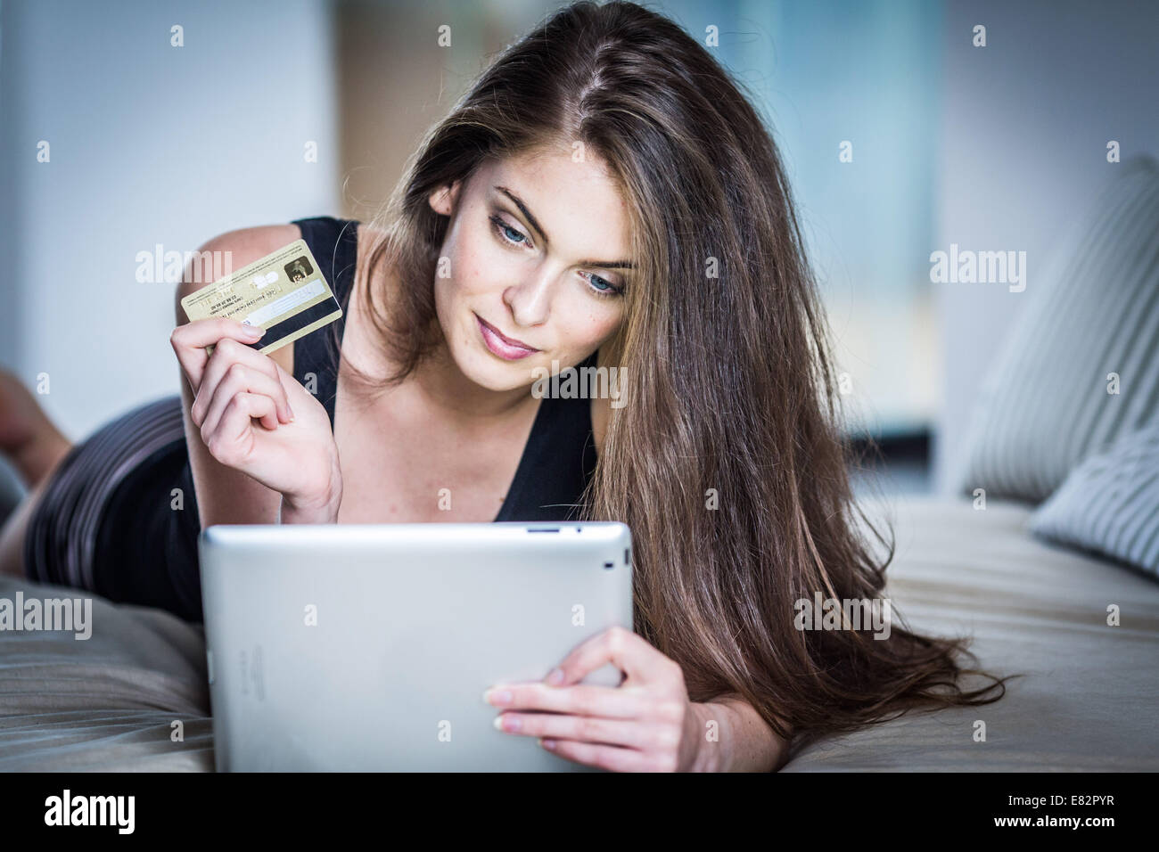 Purchase online. - Stock Image