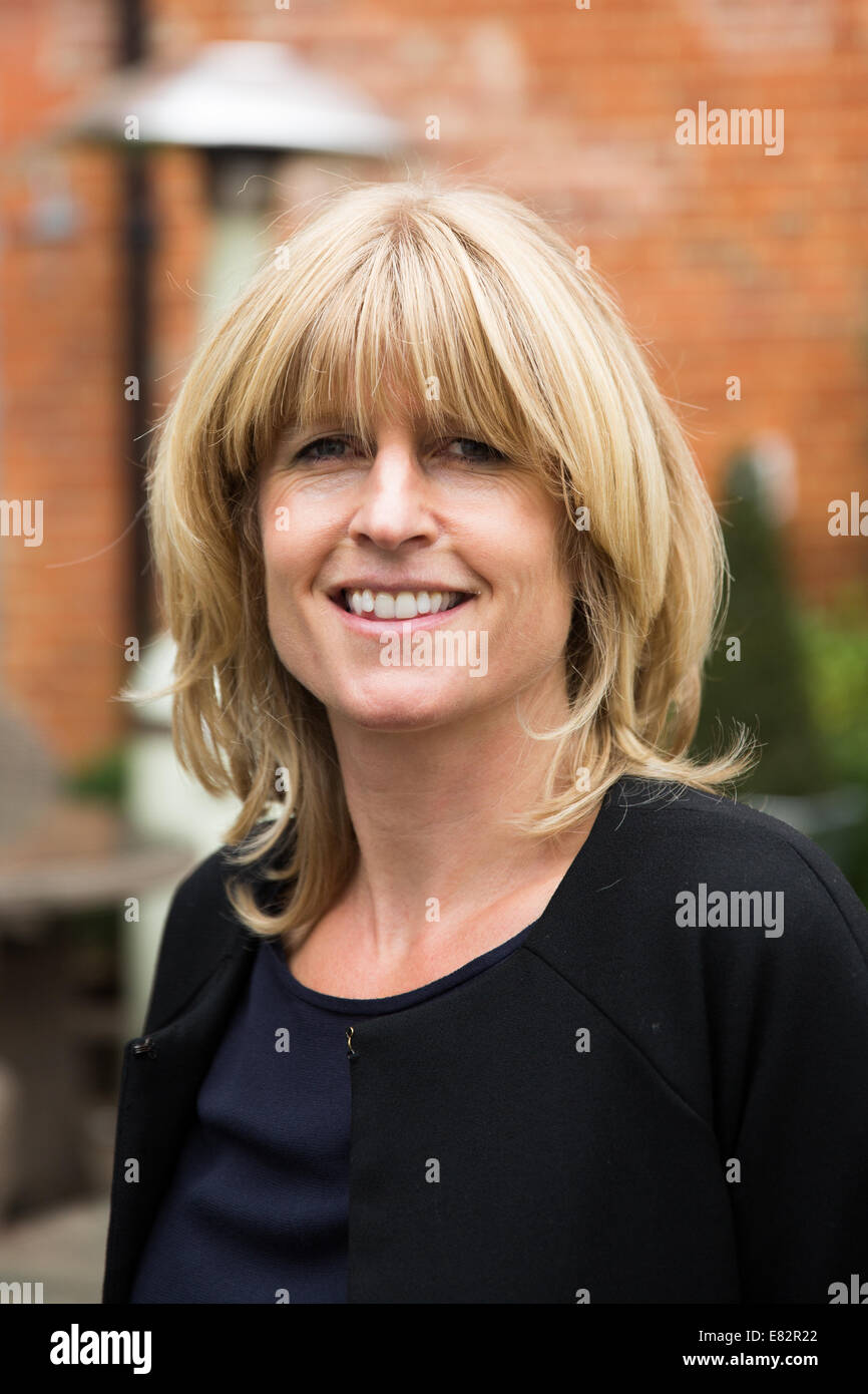 Rachel Johnson is Stanley''s daughter and she is columnist, novelist and broadcaster. - Stock Image