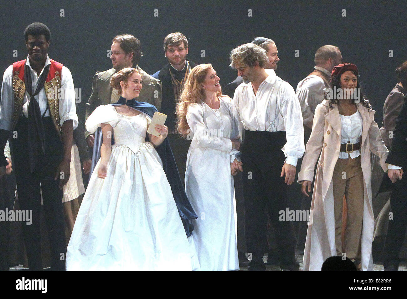 Opening night of Broadway's Les Miserables at the Imperial