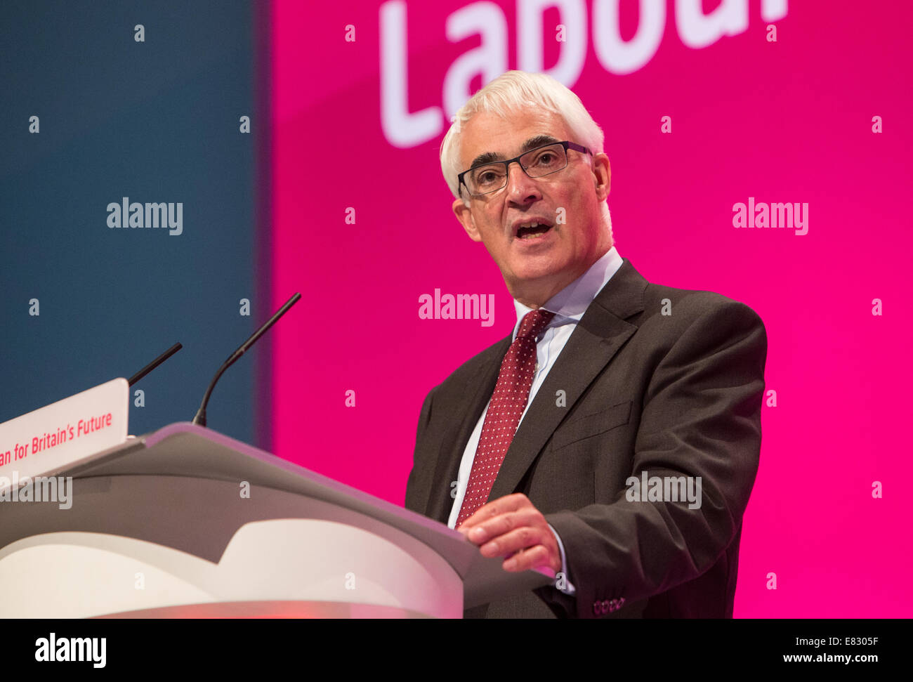 Alistair Darling-MP for for Edinburgh South West and leader of the 'Better together' campaign in Scotland - Stock Image