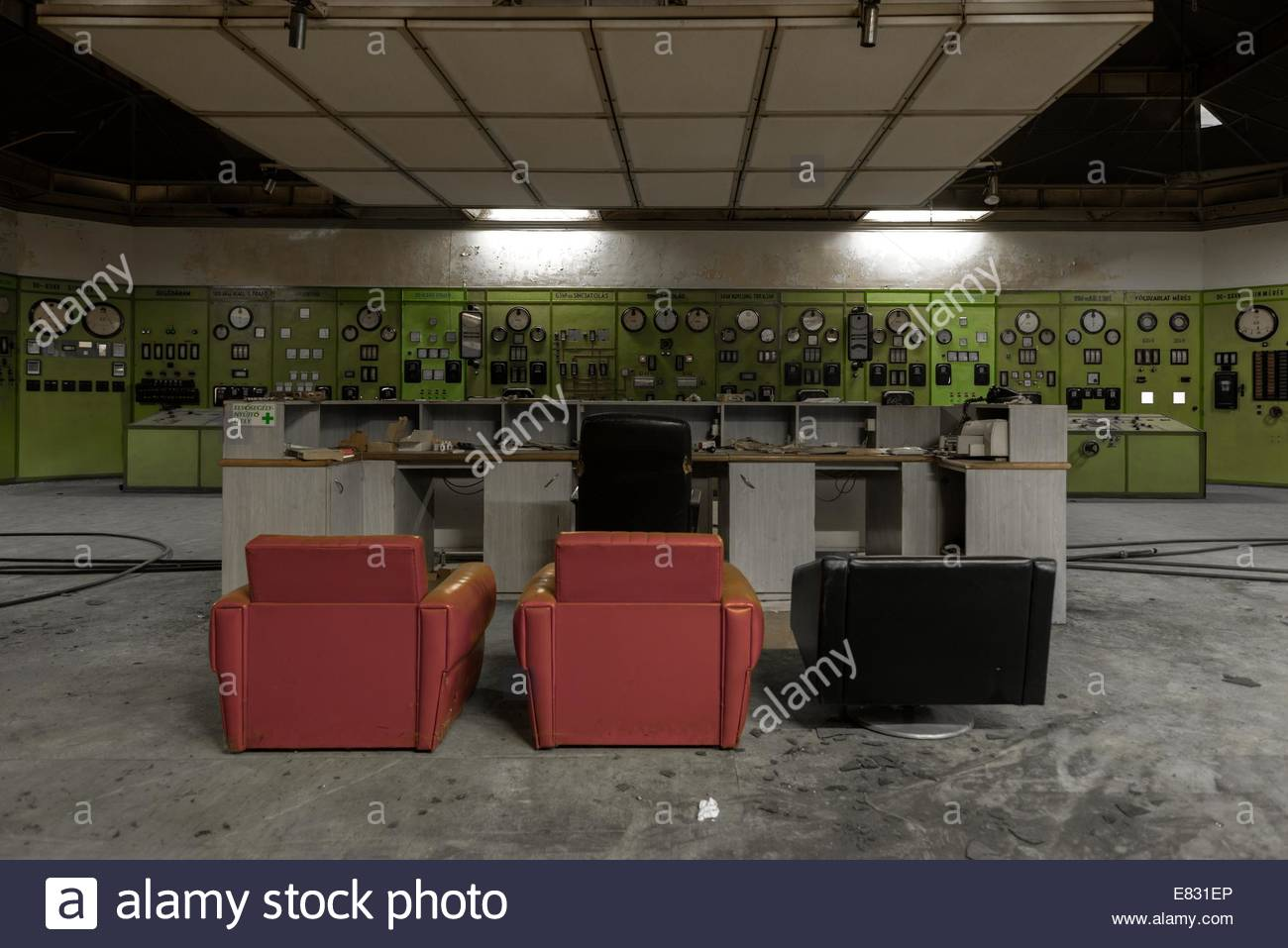 Nuclear reactor in a science institute - Stock Image