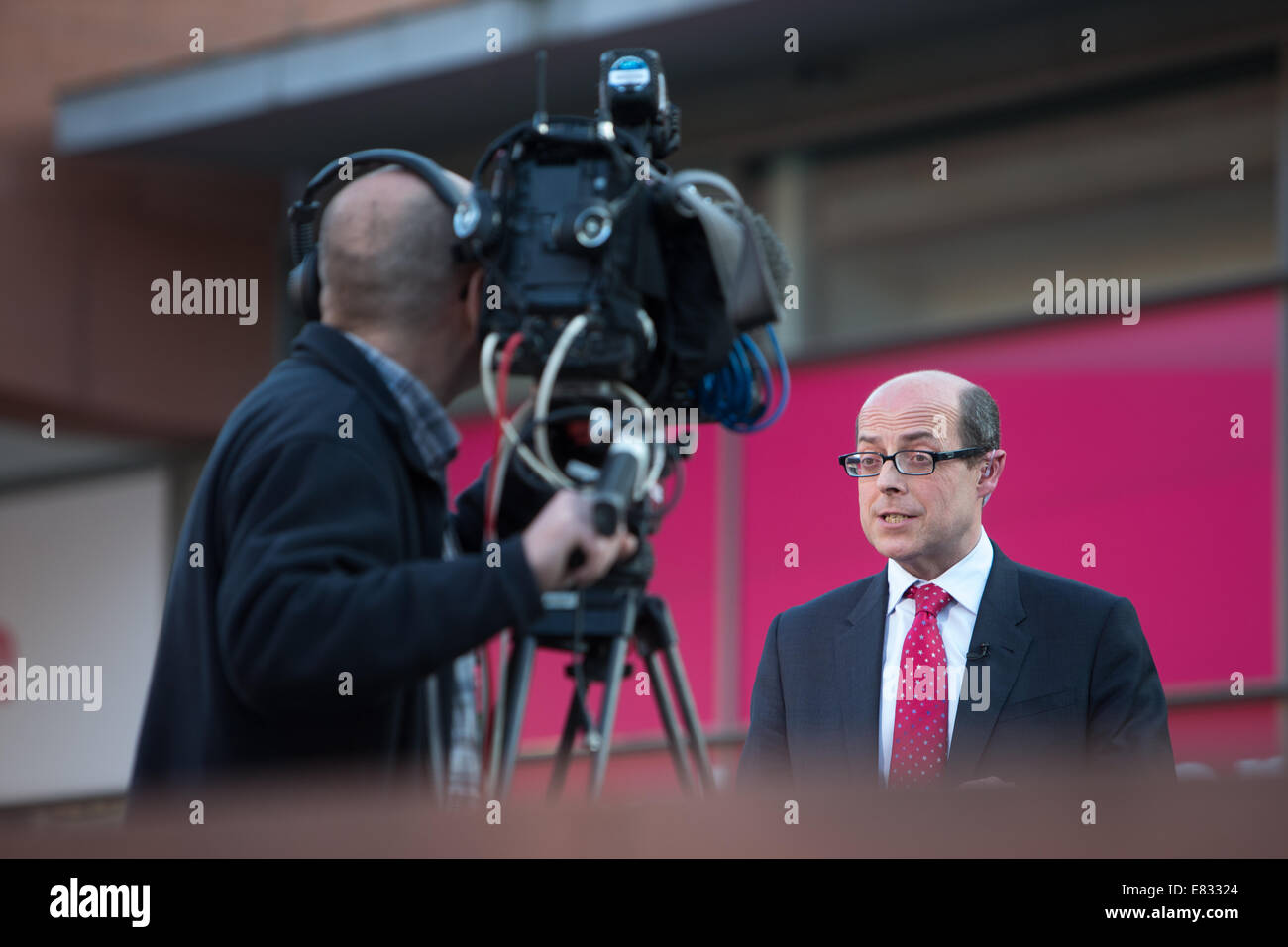 Nick Robinson-Chief Political editor for the BBC - Stock Image