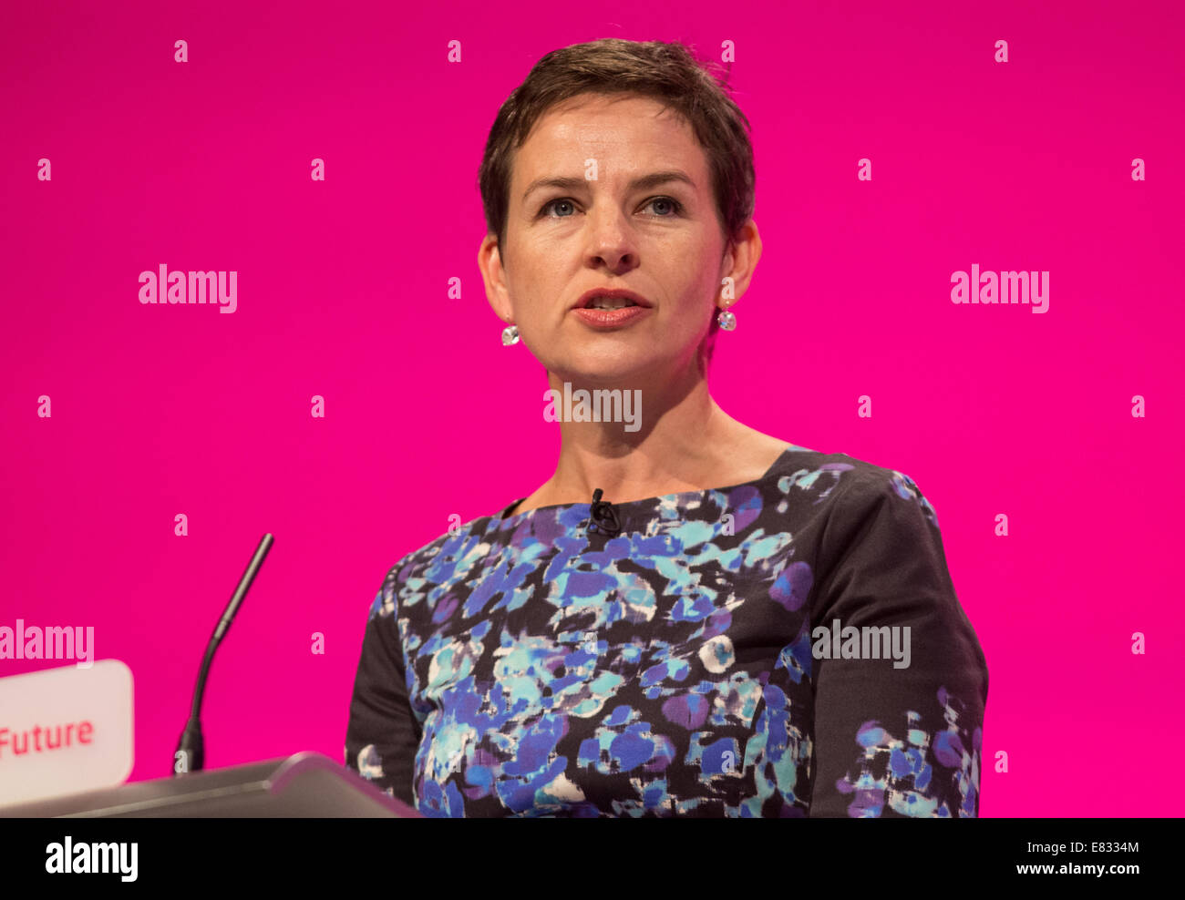 Mary Creagh-Shadow secretary of State for transport-MP for Wakefield Stock Photo
