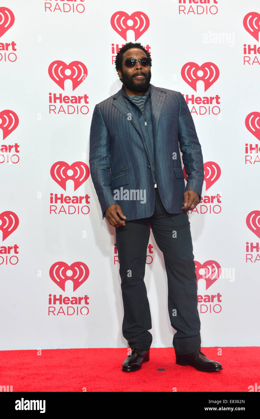 Actor Chad L. Coleman attends the 2014 iHeartRadio Music Festival in Las Vegas - Stock Image