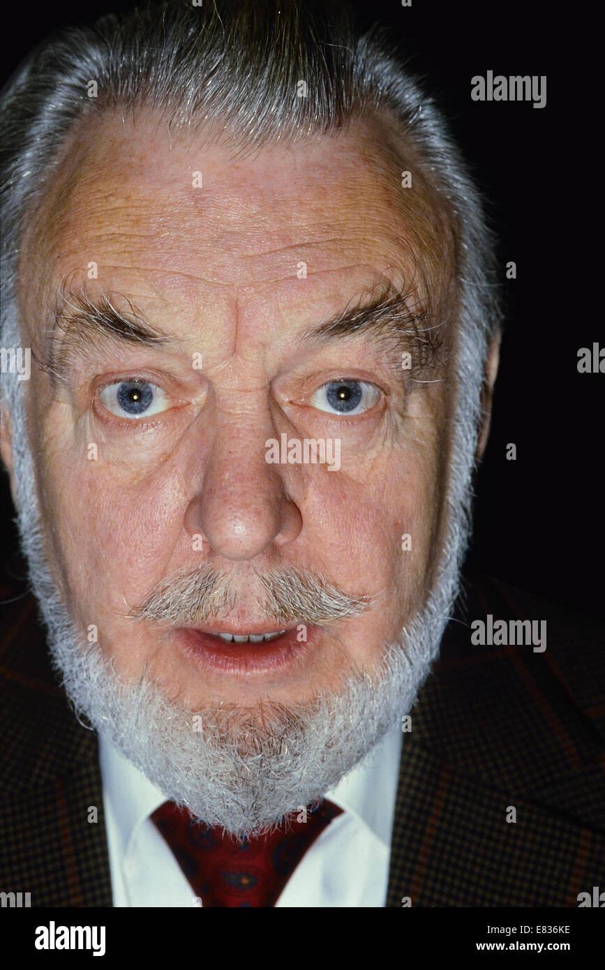 English actor, Sir Donald Sinden Circa 1980's - Stock Image