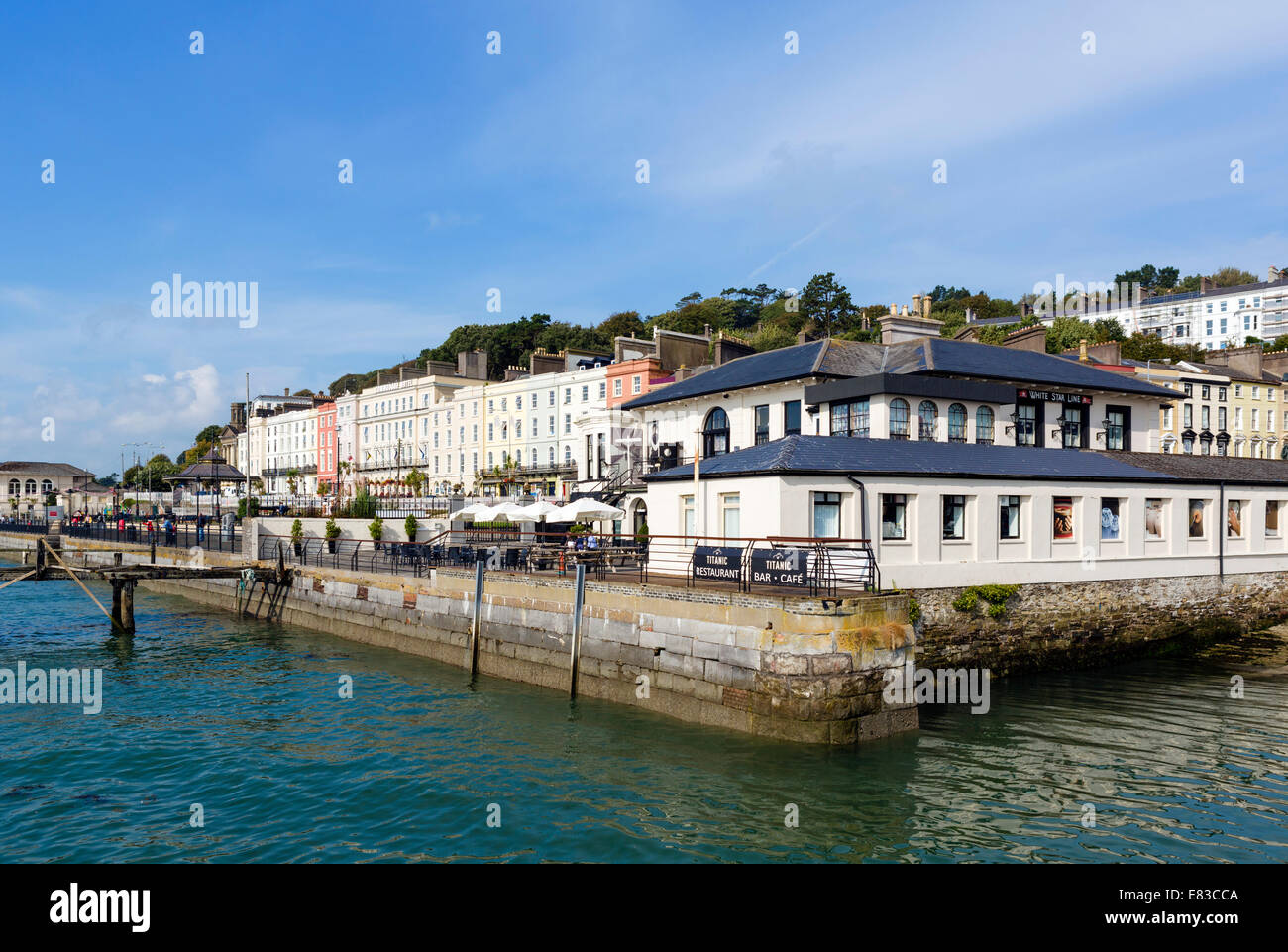 The Titanic Experience, a museum in the former offices of the White Star Line, Cobh,  Cork, Republic of Ireland - Stock Image