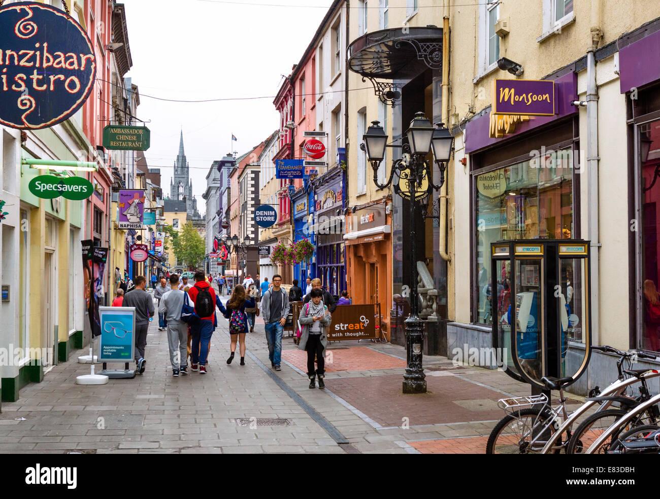 Cork City Centre Ireland Stock Photos & Cork City Centre Ireland