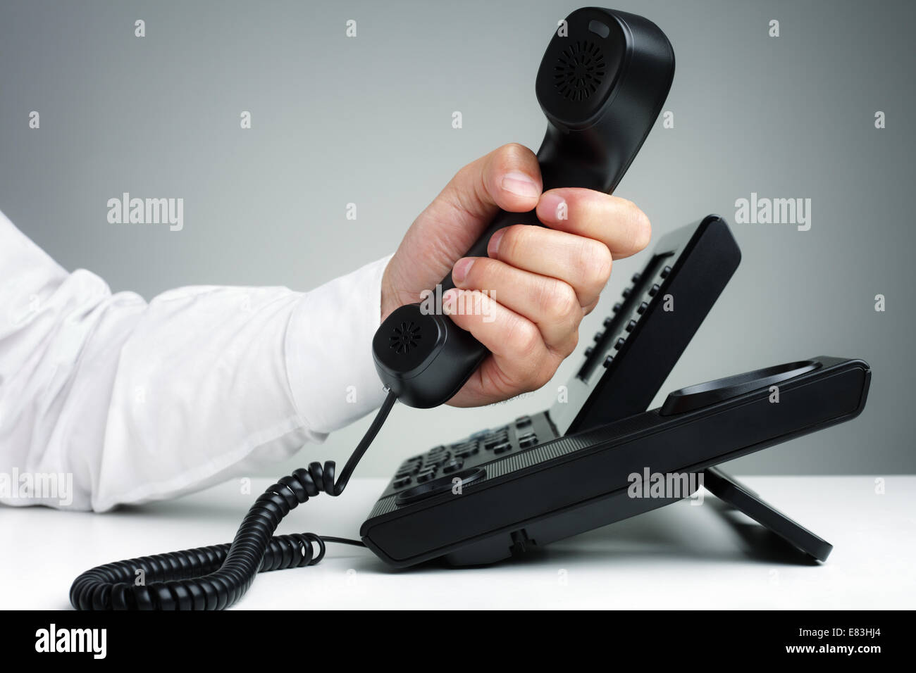 Business telephone - Stock Image