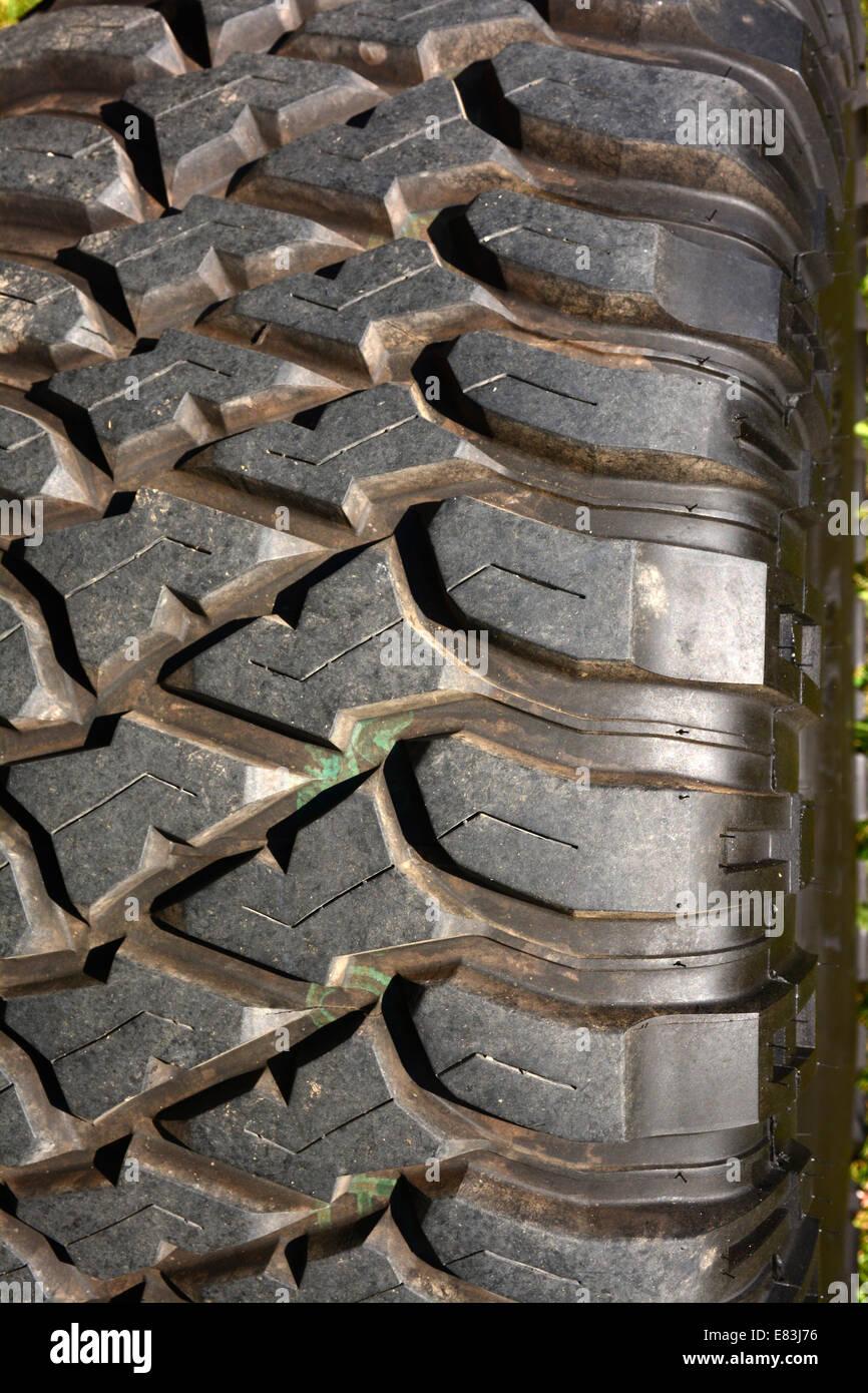 Tire Close-up - Stock Image